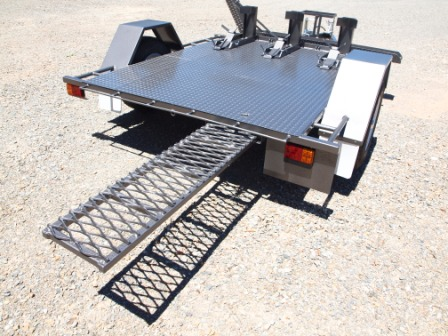 Loadmaster Trailers motor cycle carriers